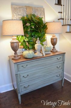 Vintage Finds: Fall Foyer