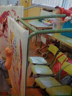 Una bona idea per pintar en vertical