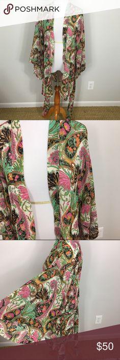 NWT show me your mumu Texas kimono palace paisley NWT show me your mumu Texas kimono palace paisley Show Me Your MuMu Tops