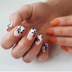 Spring Nail Trends For 2020 – Page 16 - Hair and Beauty eye makeup Ideas To Tr. - Spring Nail Trends For 2020 – Page 16 - Hair and Beauty eye makeup Ideas To Try - Nail Art Design Ideas - Short Nail Designs, Fall Nail Designs, Best Nail Designs, Simple Nail Designs, Cute Nail Art Designs, Flower Nail Designs, Spring Nail Trends, Spring Nails, Cute Nails For Spring