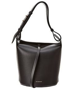 7b632b99300d Boutiques. Rue La La — Burberry Medium Leather Bucket Bag