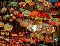 """""""Lanterns in the Grand Bazaar Istanbul Turkey"""" by Johannes (yawngie) Huntjens Istanbul Market, Framed Wall Art, Wall Art Prints, Lantern With Fairy Lights, Grand Bazaar Istanbul, Turkey Art, Fiesta Decorations, All Of The Lights, Craft Accessories"""