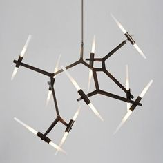 Roll & Hill Agnes Chandelier - 20 Light - modern - chandeliers - YLighting