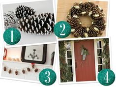 Pine Cone DIY Craft Collage Budget Styles: DIY Pine Cone Crafts
