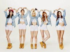 EXID chosen as the new models for 'Tiba Dumari Chicken' ~ Daily K Pop News Kpop Girl Groups, Korean Girl Groups, Kpop Girls, K Pop, Exid Kpop, Love U So Much, Hani, These Girls, Mamamoo