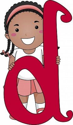 Illustration of a Kid Standing Behind a Letter D I School, Back To School, Abc For Kids, The Beach Boys, Alphabet And Numbers, Kids Sports, Clipart, My Music, Balloons