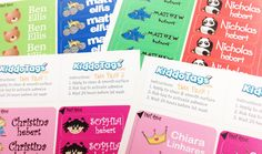$15 for $30 Worth of Personalized Kiddo Tags ™ - Featuring their Popular Twin Pack!  Bought it, hope they work.