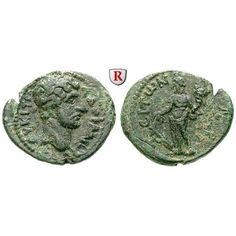 Römische Provinzialprägungen, Kilikien, Laerte, Hadrianus, Bronze, ss+: Kilikien, Laerte. Bronze 21 mm. Büste r. mit Lorbeerkranz /… #coins