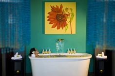 Being pampered with a relaxing massage from an award-winning Angsana Spa