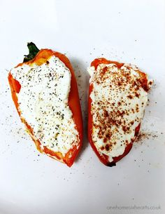 Easy Cream Cheese Filled Peppers