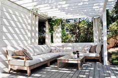 Beautiful timber furniture.