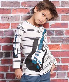 Tan Rockstar Mason Tee
