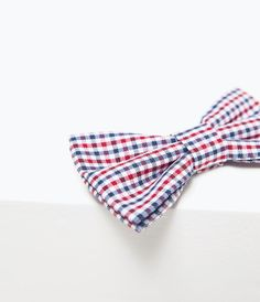 ZARA - COLLECTION SS15 - PATTERNED BOW TIE