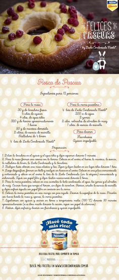 Rosca de Pascua by Leche Condensada