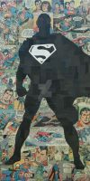 Superman Silhouette by MikeAlcantara