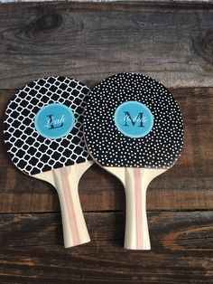 Excited to share the latest addition to my #etsy shop: Monogrammed Ping Pong Paddle, Personalized Table Tennis, Personalized Gift, Bridal Party Gift