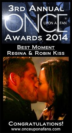 #OutlawQueen fans rejoice. Robin and Regina's kiss was voted Best Moment of Season 3.   #OnceUponATime #OnceUponAFanAwardsDay