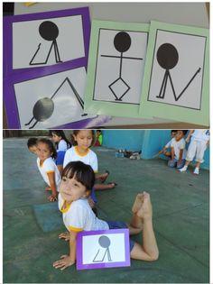 School Games, Yoga For Kids, Physique, Montessori, Kindergarten, Mandala, Classroom, Exercise, Dance