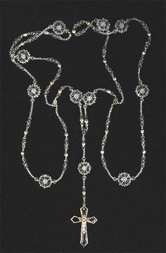 Crystal beaded gold #mexican #wedding lasso - clear crystal beads with gold crucifix. $109.95 http://www.weddingaccents.com/accessories/ag-la1354-hispannic-crystalweddinglasso.htm