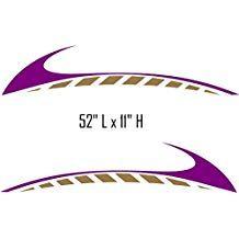 Sw06 Swoosh Swish Rv Motor Home Replacement Decals Dengan