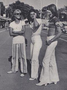 1970's Bell-Bottoms Girls