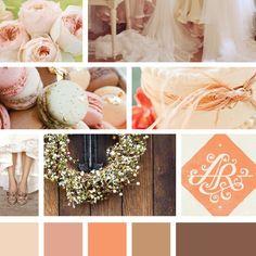 Mollie Joy Design :: Moodboard for Southern Wedding