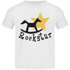 Check out this design from FunnyShirts.org. #kids #kidsclothing #rockstar