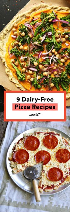 The pizza life chose us.  #greatist http://greatist.com/eat/dairy-free-pizza-recipes