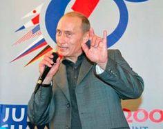 Putin-satanic-hand-sign - Western Propaganda. October 14PresidentsGeorge SorosSignsIlluminatiPuppetsDevilSymbolsRussia