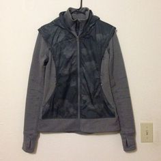 Lululemon Jacket, size 6 Super cute Lululemon jacket. In excellent condition, picture three shows small snag on right arm. Size 6. OFFERS WELCOME!! lululemon athletica Jackets & Coats