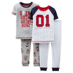 Just One You� Made by Carters� Toddler Boys' 4-Piece Baseball Mix