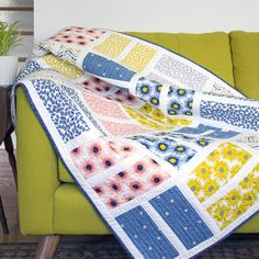 Courtyard Quilt by Michelle Engel Bencsko from Make It Sew Projects for Cloud9 Fabrics