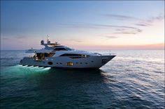 The Custom 100 yacht by Ferretti, which will be presented in Genoa in October 2011