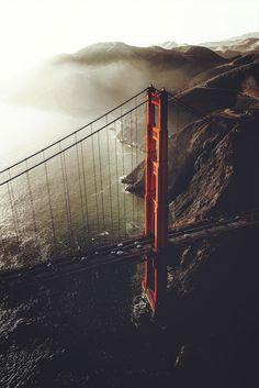 Golden Gate Bridge by Jude Allen #sanfrancisco #sf