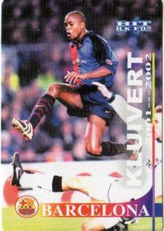 Patrick Kluivert, F.C. Barcelona 2001
