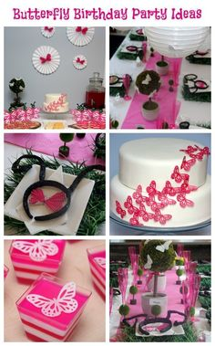 Best Butterfly Birthday Party Ideas - Butterfly Food and Decor