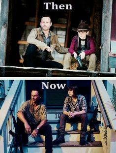 Andrew Lincoln & Chandler Riggs                                                                                                                                                                                 Más