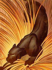 panthersart deco pantherk