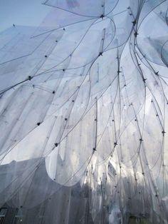 Paper Pavillon by Shigeru Ban at Milano Design Week.Hermès Paper Pavillon by Shigeru Ban at Milano Design Week. Architecture Design, Parametric Architecture, Parametric Design, Gothic Architecture, Amazing Architecture, Pavilion Architecture, Installation Architecture, Architecture Diagrams, Architecture Portfolio