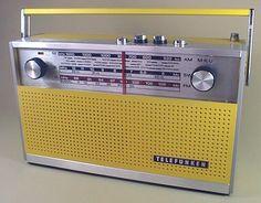 TELEFUNKEN Banjo 1967. 3Band