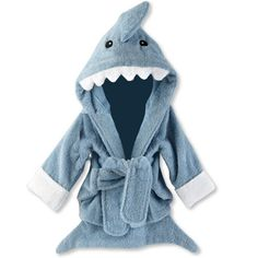 Baby Shark bath robe