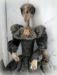 The Goode Wife of Washington County: It's Almost Time. Halloween Doll, Fall Halloween, Scary Dolls, Haunted Dolls, Cat Doll, Paperclay, Creepy Cute, Soft Sculpture, Ooak Dolls