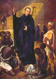 Happy Memorial of St Peter Claver – September 9 #pinterest #stpeterclaver Although the slave owners tried to stop Fr Claver, he taught the faith to the slaves anyway. It was slow, discouraging work. Many people criticised him, saying it was all a waste of time. They thought the slaves would never keep the faith. But St. Peter was patient and he trusted that God would bless his people. He also went to visit his converts.........