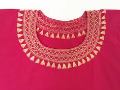 Handmade Pink Blouse - 100 % Cotton - available at azucarmaria.com Handmade Products, Spring Summer 2016, Cyber, Mall, Minimal, Shops, Tapestry, Community, Embroidery