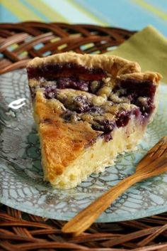 Randy's Blueberry Buttermilk Pie. Blueberries in buttermilk pie? I never thought about it! Can't wait to make this!