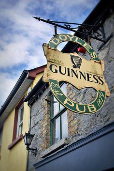 Doyle's Pub in Castledermot, Ireland, county Kildare © John Bragg Photography