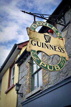 Doyle's Pub in Castledermot, Ireland, county Kildare © John Bragg Photography