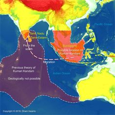 Kumari Kandam refers to a hypothetical lost continent with an ancient Tamil civilization, located south of present-day India, in the Indian Ocean.  More at   https://atlantisjavasea.com/2016/04/09/kumari-kandam/