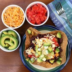 Quick and Easy Vegetarian Taco Salad with Cabbage