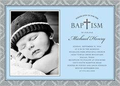 Printable Christening/Baptism Invitations by PamelasDigitalPrints ...